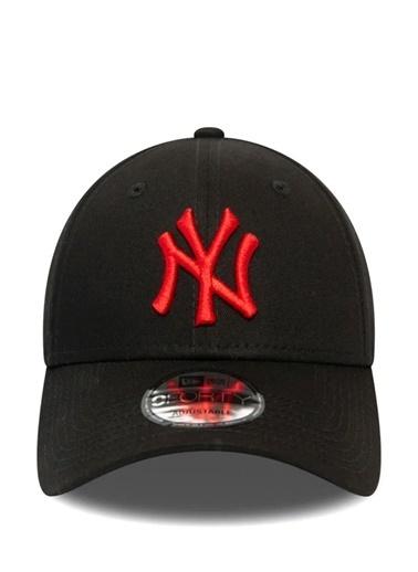 New Era New Era New York Yankees League Essential Erkek Şapka 101578877 Siyah